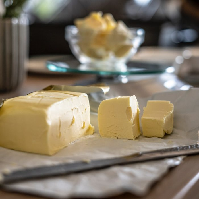 butter in the kitchen