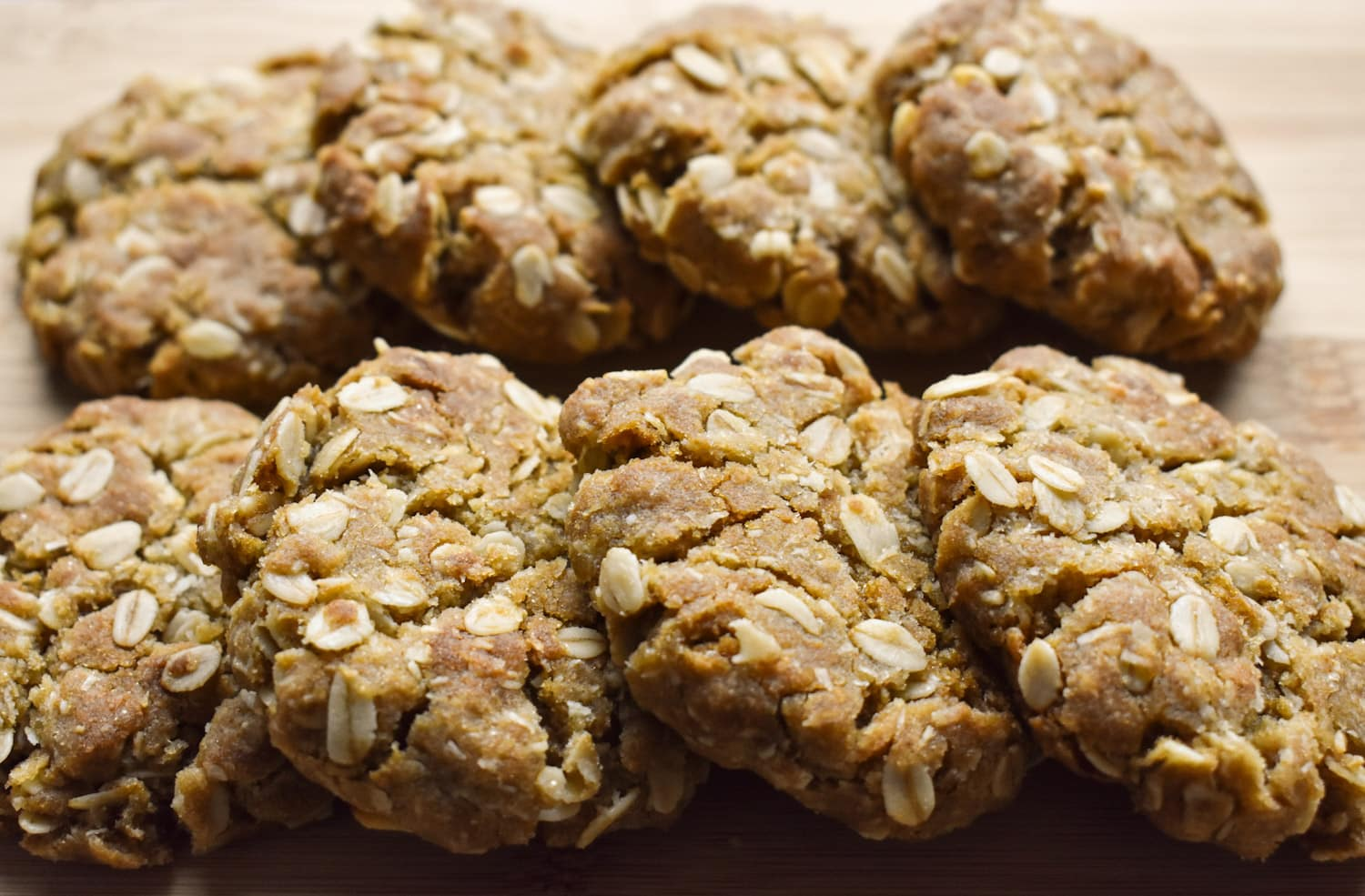 Easy to make Anzac Biscuits